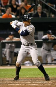 Alex Rodriguez: 5-time PRP Recipient